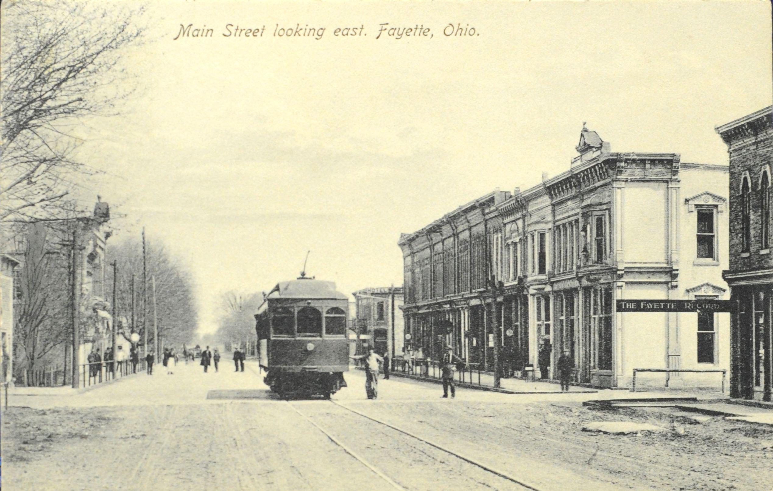Main Street looking East - Circa 1910